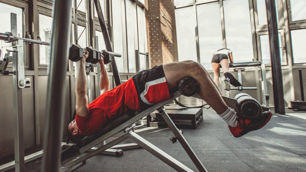 Incline and Decline Bench Press