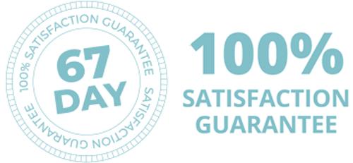 67 days, 100% satisfaction guaranteed whit ILLUMINATURAL 6I™