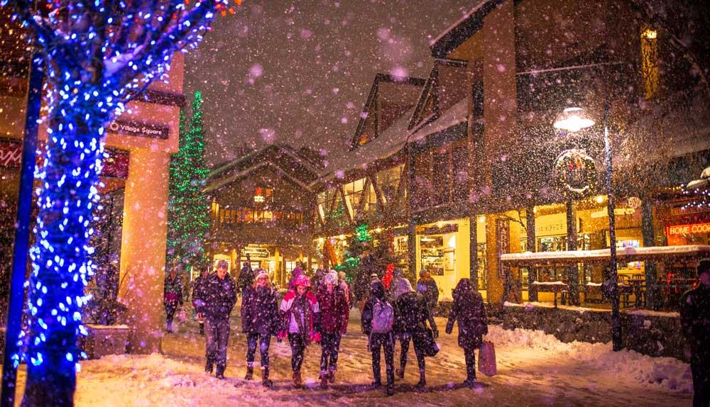 Christmas ski trip