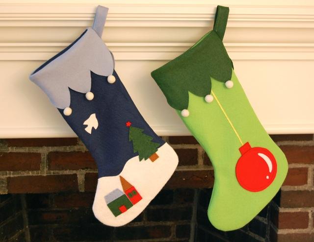Make Christmas stockings