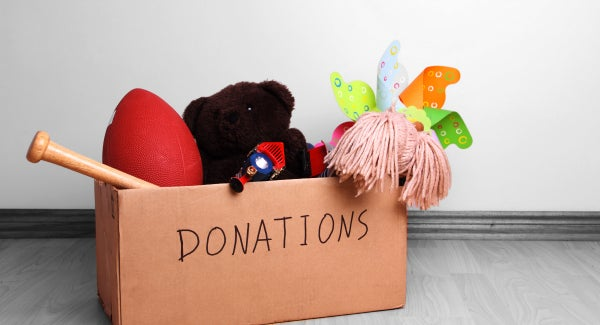 donating old toys